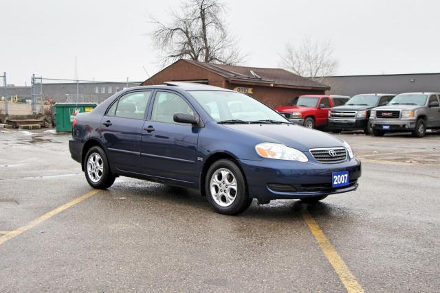 2007 Toyota Corolla CE SUNROOF, RIMS, REMOTE