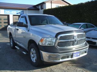 Used 2014 RAM 1500 ST, Regular Cab, 4x4, V6 for sale in Beaverton, ON
