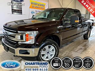 Used 2018 Ford F-150 XLT cabine double 4RM caisse de 8 pi for sale in Laval, QC