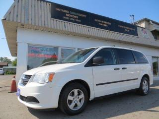 Used 2013 Dodge Grand Caravan 7 PASSENGERS, ALLOYS, STOW&GO for sale in Mississauga, ON