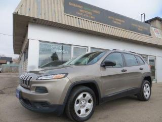 Used 2016 Jeep Cherokee Sport, HEATED SEATS AND HEATED STEERING for sale in Mississauga, ON