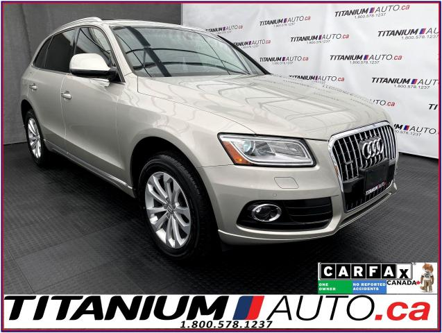 2016 Audi Q5 Progressiv+Quattro+GPS+Camera+Pano Roof+Brown Seat