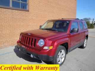 Used 2012 Jeep Patriot 4X4 NORTH EDITION for sale in Oakville, ON