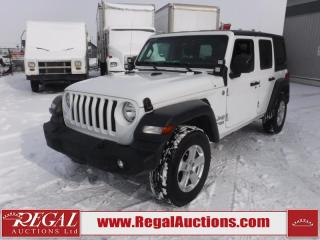 Used 2018 Jeep Wrangler JL Unlimited SPORT 4D UTILITY 4WD 3.6L for sale in Calgary, AB
