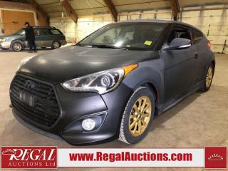 Used 2013 Hyundai Veloster Turbo 2D Coupe 6SP for sale in Calgary, AB