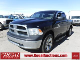 Used 2012 RAM 1500 SXT 4D QUAD CAB SWB 4WD 5.7L for sale in Calgary, AB