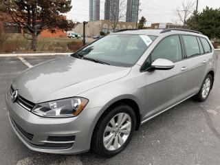 Used 2016 Volkswagen Golf Sportwagen Trendline APPLE CAR PLAY 4 TO CHOOSE ONE OWNER OFF for sale in Concord, ON