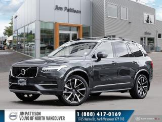 Used 2019 Volvo XC90 Hybrid T8 Momentum - NO ACCIDENTS - LOCAL - ONE OWNER for sale in North Vancouver, BC