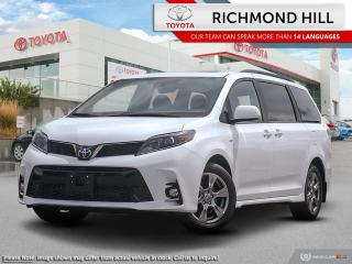 New 2020 Toyota Sienna SE 7-Passenger  - $162.82 /Wk for sale in Richmond Hill, ON