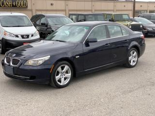 Used 2008 BMW 5 Series NO ACCIDENTS! 4dr Sdn 535xi AWD \6 MONTH WARRANTY INCULDED for sale in Brampton, ON