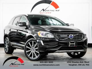 Used 2017 Volvo XC60 T6 Drive-E Premier|Navigation|Camera|Pano Roof|Heated Heathe for sale in Vaughan, ON