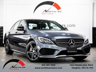 Used 2016 Mercedes-Benz C-Class C450 AMG 4MATIC|Navigation|Pano Roof|360 Camera|Premium for sale in Vaughan, ON