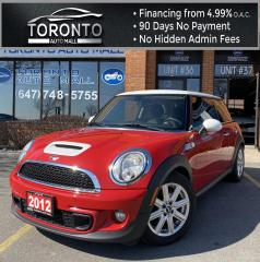 Used 2012 MINI Cooper S Leather Power Seats Heated Seats Keyless Entry for sale in North York, ON