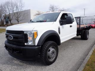 Used 2017 Ford F-550 SuperCab DRW 4WD 11 Foot Flat Deck for sale in Burnaby, BC