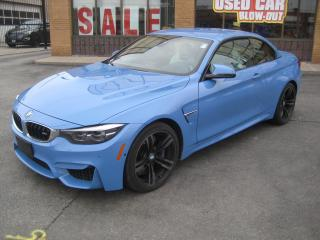 Used 2018 BMW M4 Cabriolet for sale in North York, ON