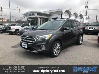 Used 2017 Ford Escape Titanium for sale in London, ON