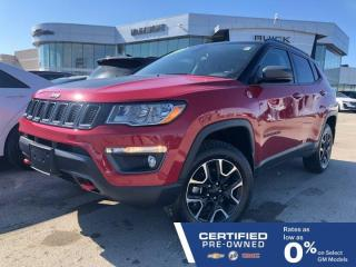 Used 2019 Jeep Compass Trailhawk 4x4   Heated Seats & Steering Wheel for sale in Winnipeg, MB