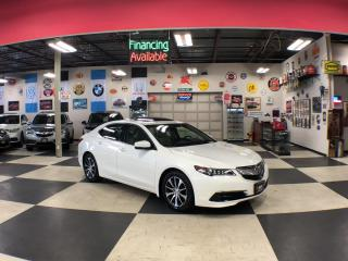Used 2016 Acura TLX AUT0 NAVI LEATHER P/START SUNROOF CAMERA 90K for sale in North York, ON