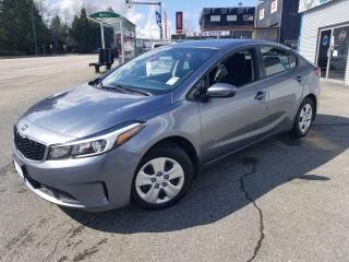 Used 2017 Kia Forte LX for sale in Port Coquitlam, BC