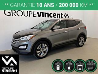 Used 2013 Hyundai Santa Fe SPORT SE 2.0T AWD CUIR TOIT  ** GARANTIE 10 ANS ** Lorsque l'espace est vital, à prix très compétitif! for sale in Shawinigan, QC