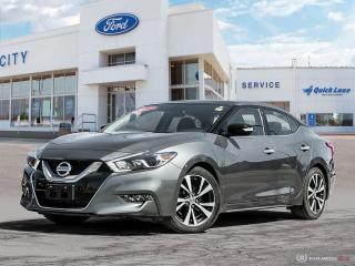 Used 2017 Nissan Maxima SL 3.5 for sale in Winnipeg, MB