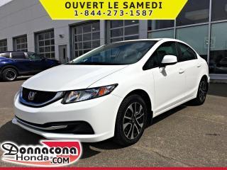 Used 2013 Honda Civic EX *GARANTIE 10 ANS / 200 000 KM* for sale in Donnacona, QC