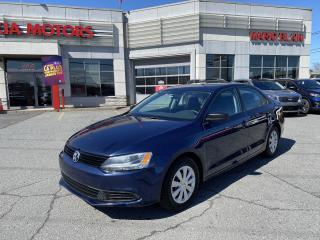Used 2013 Volkswagen Jetta TRENDLINE + **SIEGE CHAUFFANT, A/C, CRUISE CONTROL for sale in Mcmasterville, QC