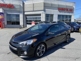 Used 2014 Kia Forte Koup SX LUXE **TURBO, CUIR, GPS ,NAV WOW** for sale in Mcmasterville, QC