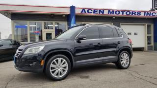Used 2009 Volkswagen Tiguan Highline for sale in Hamilton, ON