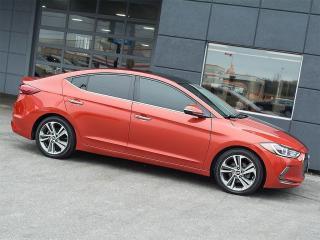 Used 2017 Hyundai Elantra LTD NAVI REARCAM LEATHER ROOF ALLOYS for sale in Toronto, ON