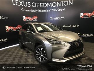 Used 2017 Lexus NX 200t FSport Series 3 for sale in Edmonton, AB