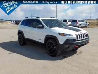 Used 2016 Jeep Cherokee Trailhawk 4x4 | Nav | Sunroof | Leather for sale in Indian Head, SK