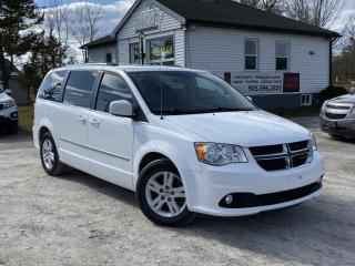 Used 2014 Dodge Grand Caravan No-Accidents Crew Stow'N Go Backup Cam for sale in Sutton, ON