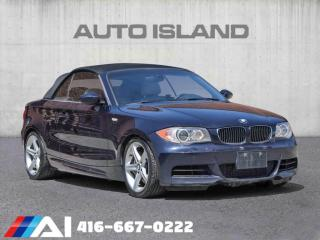 Used 2008 BMW 1 Series 2 DOOR CONVERTIBLE - for sale in North York, ON