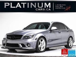 Used 2009 Mercedes-Benz C-Class C 63 AMG,V8,NAVI,HARMAN KARDON,HEATED SEATS,PADDLE for sale in Toronto, ON