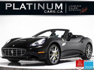 Used 2013 Ferrari California Convertible GT, 4.3L V8, 483HP, NAV, CAM, CARBON for sale in Toronto, ON