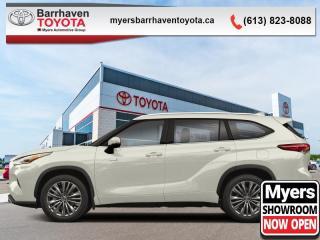 New 2020 Toyota Highlander Hybrid XLE  - Power Moonroof - $382 B/W for sale in Ottawa, ON