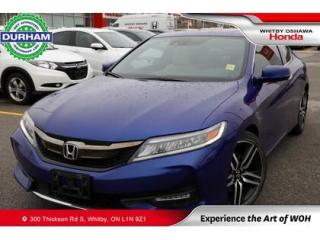 Used 2016 Honda Accord 2dr I4 CVT Touring for sale in Whitby, ON