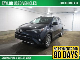 Used 2017 Toyota RAV4 Limited Toyota Certified One Owner for sale in Regina, SK