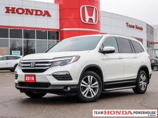 Used 2016 Honda Pilot EX-L RES EX-L for sale in Milton, ON