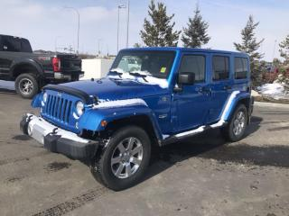 Used 2015 Jeep Wrangler Unlimited Sahara for sale in Fort Saskatchewan, AB