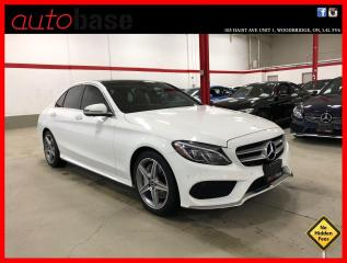 Used 2017 Mercedes-Benz C-Class C300 4MATIC PREMIUM PLUS SPORT LED 360 RED INT! for sale in Vaughan, ON