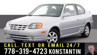 Used 2004 Hyundai Accent GL for sale in Kelowna, BC