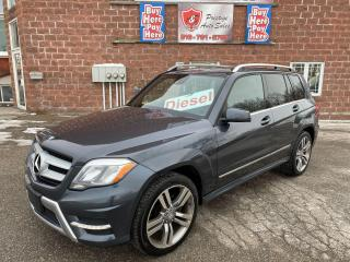 Used 2013 Mercedes-Benz GLK 250 BlueTec/DIESEL/4WD/2T/NO ACCIDENTS/SAFETY INCLUDED for sale in Cambridge, ON
