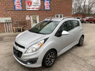 Used 2013 Chevrolet Spark LT/1.2L/5 SPEED/ONE OWNER/NO ACCIDENT/CERTIFIED for sale in Cambridge, ON