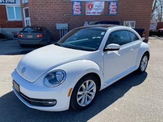 Used 2012 Volkswagen Beetle Comfortline/2.5L/SUNROOF/NO ACCIDENT/CERTIFIED for sale in Cambridge, ON