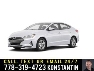 Used 2020 Hyundai Elantra Preferred for sale in Kelowna, BC