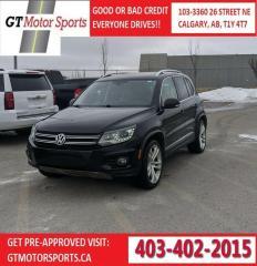 Used 2012 Volkswagen Tiguan COMFORTLINE for sale in Calgary, AB