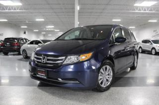 Used 2015 Honda Odyssey EX-L I NAVIGATION I LEATHER I POWER DOORS I SUNROOF I BT for sale in Mississauga, ON