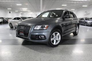 Used 2016 Audi Q5 QUATTRO I LEATHER I BIG SCREEN I HEATED SEATS I PUSH START for sale in Mississauga, ON